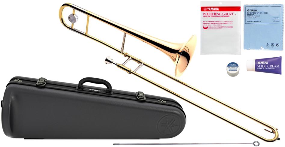 YAMAHA ( ヤマハ ) YSL-455G テナートロンボーン ゴールドブラスベル B♭ デュアルボア トロンボーン 日本製 管楽器 Tenor Trombones 北海道 沖縄 離島不可