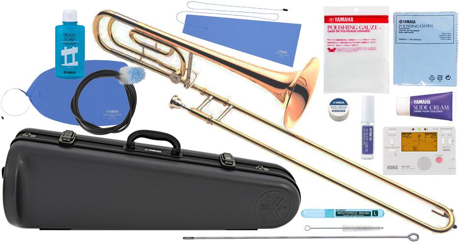 低価格の YAMAHA ( ヤマハ ) YSL-456G ( 送料無料 テナーバストロンボーン 新品 ゴールドブラスベル Bass B♭/F管 デュアルボア トロンボーン 日本製 Tenor Bass Trombones【 YSL456G セット C】 送料無料, アシストパス:85255787 --- bibliahebraica.com.br