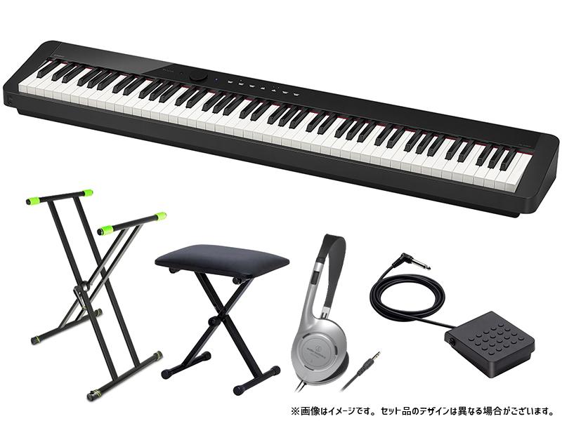 100%正規品 CASIO ( カシオ ) PX-S1000 BK 簡易練習セット, プラチナSHOP f058cbfd