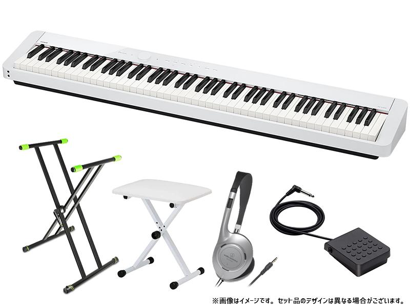 CASIO ( カシオ ) PX-S1000 WE 簡易練習セット【[新製品][4月頃 発売予定/ご注文時納期確認] 】