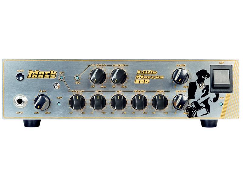 Markbass ( マークベース ) Little Marcus 800【リトル・マーカス 800W ベースヘッド 】【MAK-LMM800】