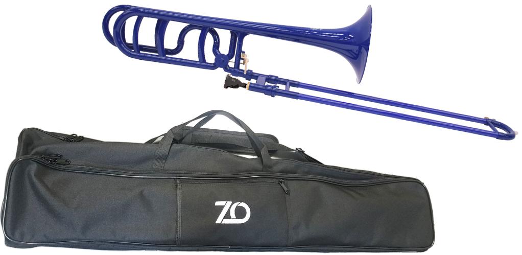 ZO ( ゼットオー ) トロンボーン 太管 TB-10 ダークブルー 新品 アウトレット プラスチック テナーバストロンボーン tenor bass trombone dark blue 北海道 沖縄 離島不可