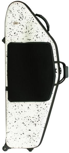 bags ( バッグス ) EFBS F-WHT フュージョンホワイト バリトンサックス ハードケース baritone saxophone hard case white 白色 ケース 北海道 沖縄 離島 同梱 代引き 不可