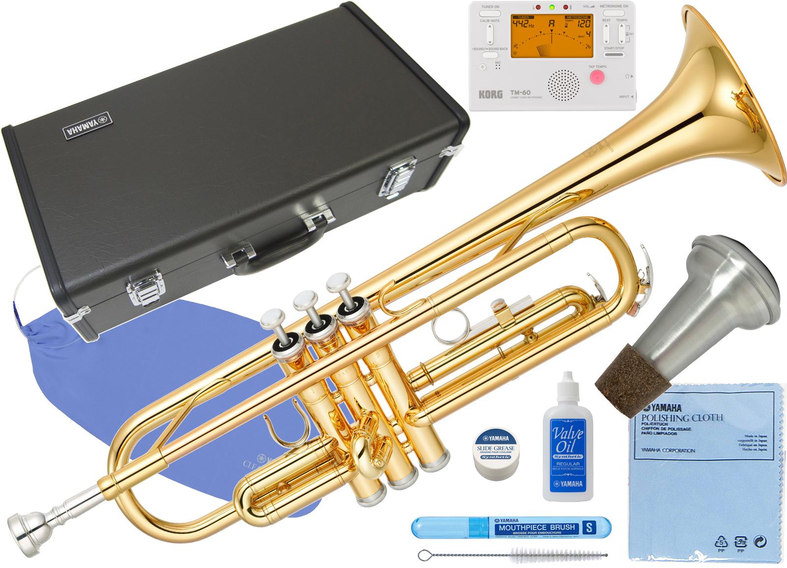YAMAHA ( ヤマハ ) YTR-2330 トランペット 新品 ゴールド 正規品 管楽器 初心者 B♭ Trumpet gold 楽器 本体 スタンダード 【 YTR2330 セット A】 送料無料