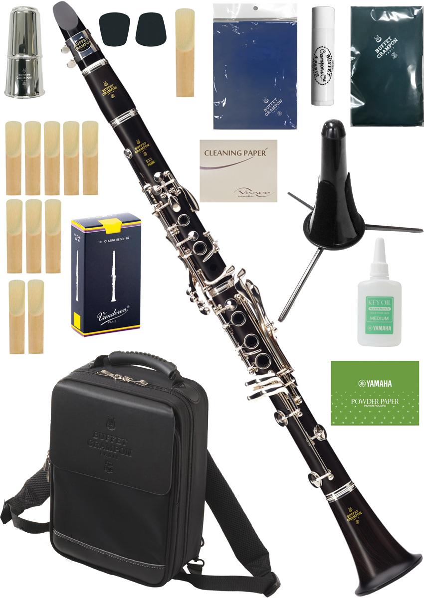 Buffet Crampon ( クランポン ) E12 PLUS クラリネット BC2512P-2-0J 標準パッケージ 木製 B♭ soprano clarinet E-12 プラス セット A 北海道 沖縄 離島不可