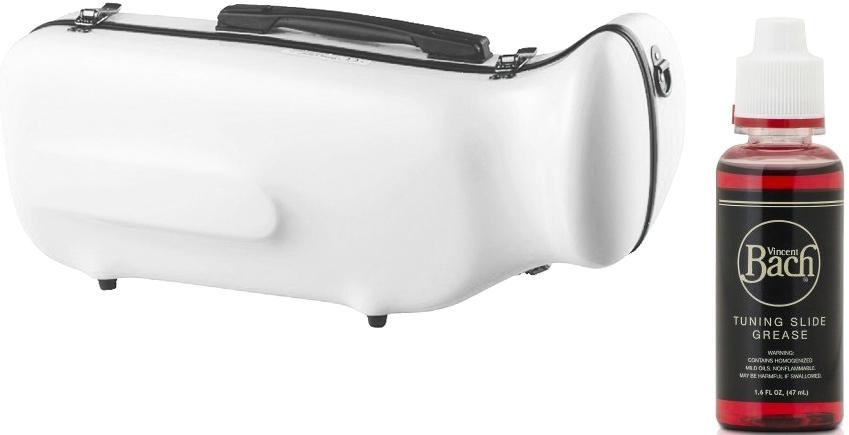 CCシャイニーケース II CC2-TP-WH トランペットケース ホワイト ハードケース トランペット用 リュックタイプ シングル ケース 白色 white セット G