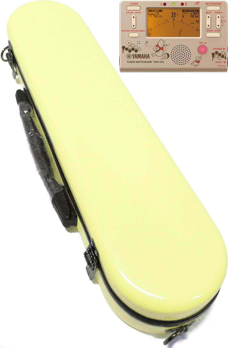CCシャイニーケース II フルートケース パステルイエロー 黄色 CC2-FL-PY ハードケース フルート用 ケースカバー ケース イエロー C管 H管 セット O 送料無料