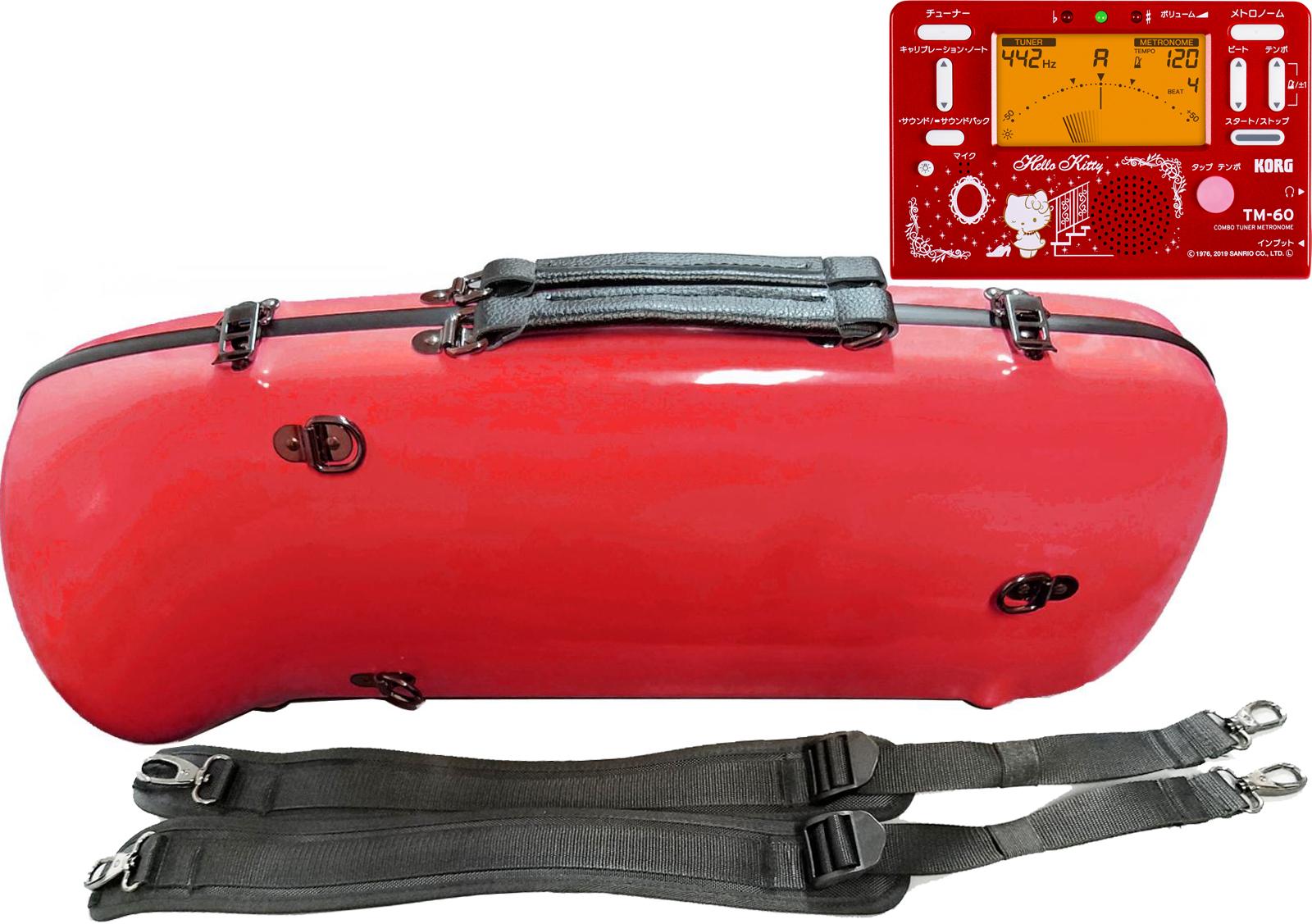 CCシャイニーケース II CC2-ATP-RD エアロ トランペット用 ケース レッド ハードケース リュック trumpet red 赤色 トランペットケース TM-60-SKT2 セットK 送料無料