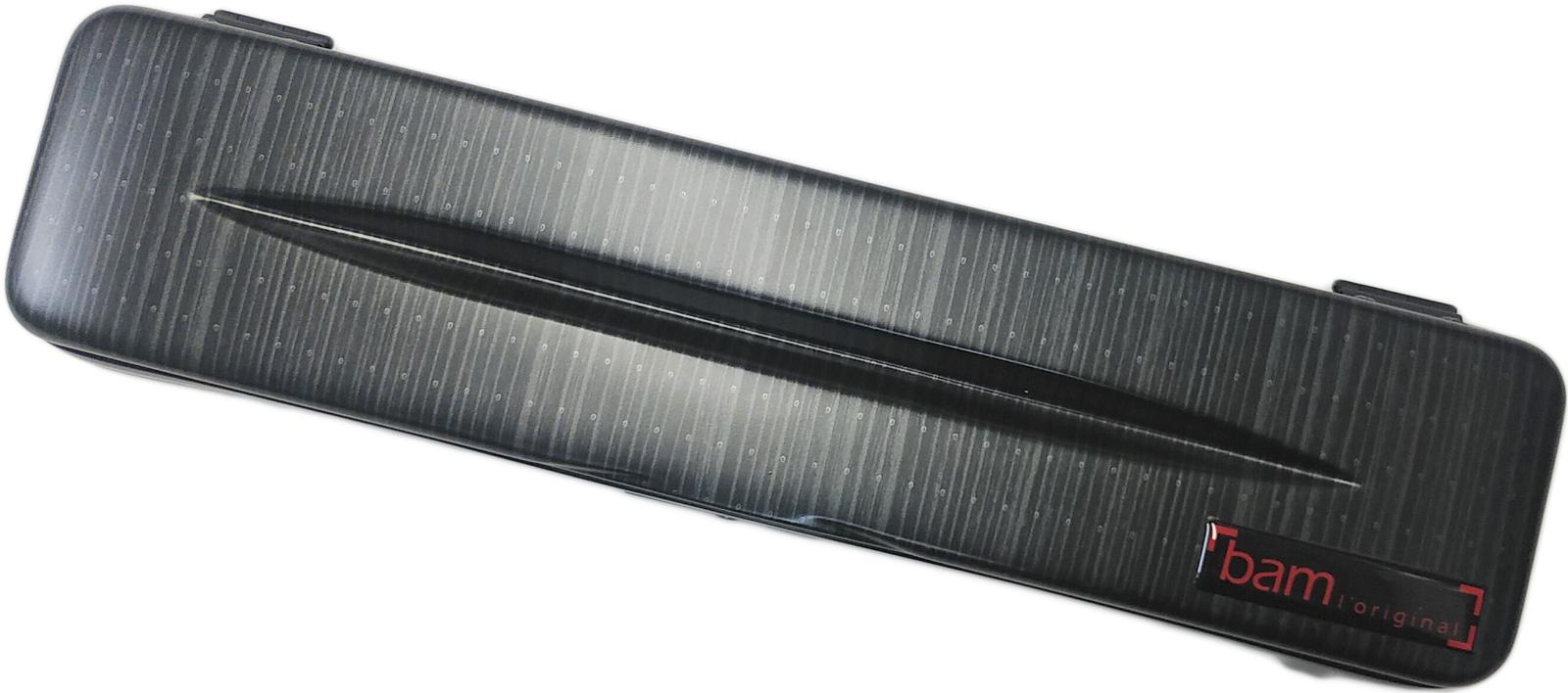 フランス製 made in France フルート用ケース 1本 管楽器 bam ( バム ) 4009XLLB ブラックラズール フルートケース ハイテック フルート用 ハードケース シングル C管 H管 ケース HIGHTECH FLUTE CASE Black Lazure