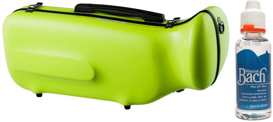 CCシャイニーケース II CC2-TP-AG トランペットケース アップルグリーン ハードケース トランペット用 リュック シングル ケース apple green セット K 送料無料