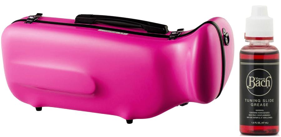 CCシャイニーケース II CC2-TP-PPL トランペットケース パープル 紫色 ハードケース トランペット用 リュックタイプ 管楽器 シングル ケース purple セット G 送料無料
