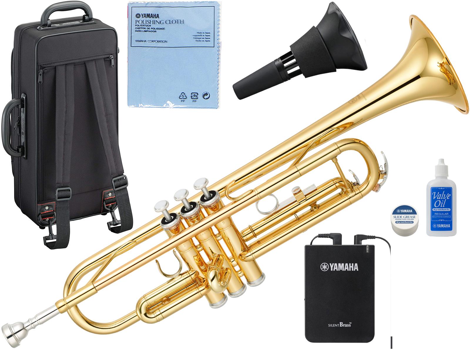 YAMAHA ( ヤマハ ) YTR-3335 トランペット リバース管 ゴールド 1本支柱 管楽器 B♭ 正規品 YTR-3335-01 Trumpet サイレントブラス SB7X セット E 北海道 沖縄 離島 不可
