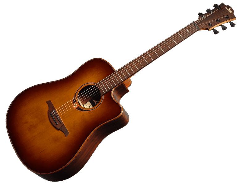 LAG Guitars T118DCE BRS 【アコースティックギター  エレアコ 】