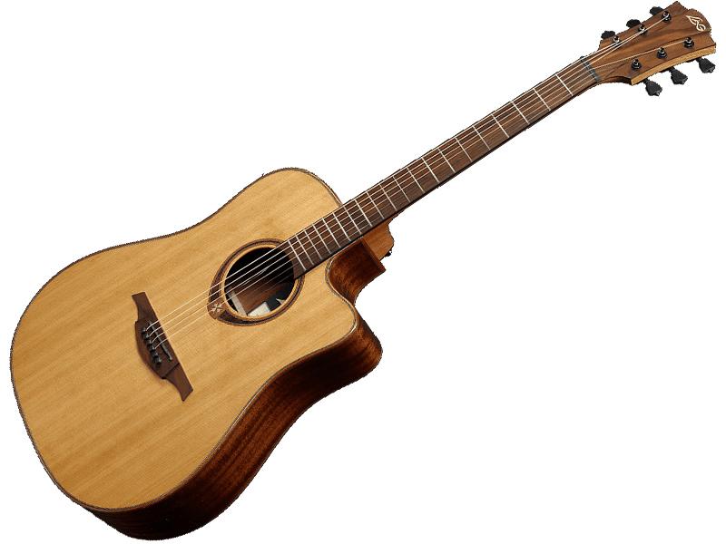 LAG Guitars T118DCE 【アコースティックギター エレアコ 】