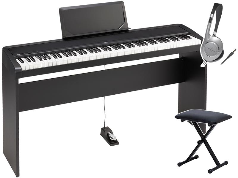 KORG ( コルグ ) B2N 純正スタンド+ベンチセット ◆【デジタルピアノ】 ◆【電子ピアノ】【88鍵盤】【ピアノタッチ】