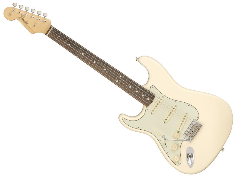 Fender ( フェンダー ) American Original 60s Stratocaster Left-Hand Olympic White 【USA レフトハンド ストラトキャスター 左用】