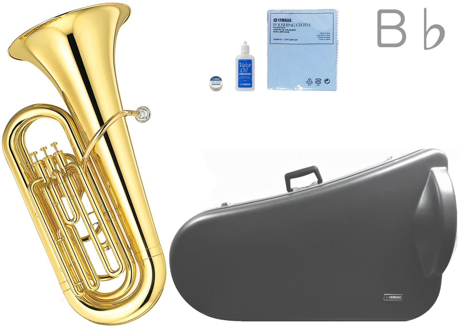 YAMAHA ( ヤマハ ) YBB-105 新品 B♭ チューバ 3ピストン 日本製 ゴールド 管体 トップアクション ピストンチューバ 管楽器 tuba 北海道 沖縄 離島不可