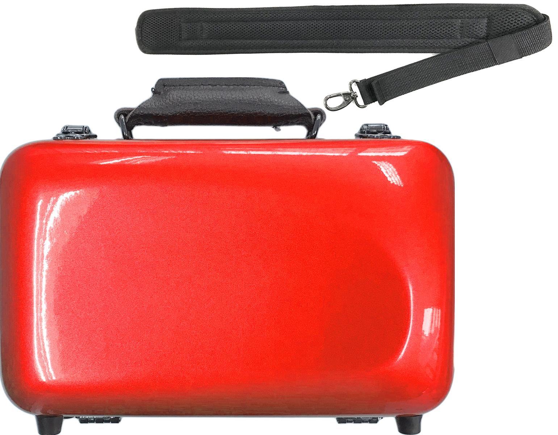 CCシャイニーケース II CC2-CLMC-RD B♭ クラリネットミニ ケース レッド ハードケース クラリネットケース ミニ mini clarinet case 赤色 RED RD