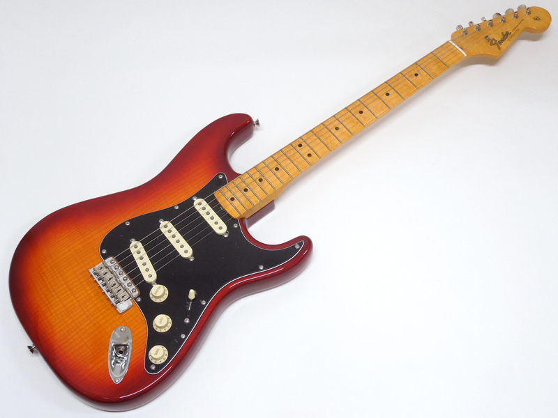 Fender ( フェンダー ) Rarities Flame Ash Top Stratocaster / Plasma Red Burst 【USA ストラトキャスター 限定 WO】【限定プライスダウン! 】