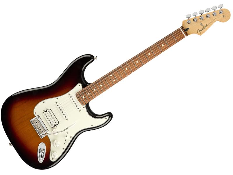 Fender ( フェンダー ) Player stratocaster HSS (3-Color Sunburst /PF )【MEX ストラトキャスター 】