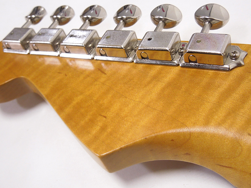 Vanzandt(ヴァンザント)STV-R2FlameNeckLTDFullertone633TS【国産オーダーギターWO8308】