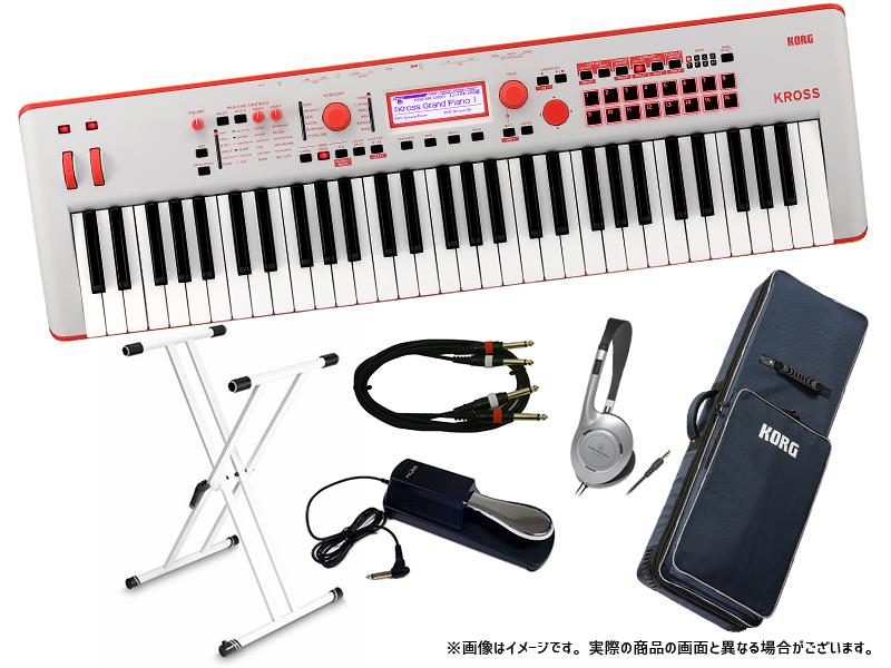 KORG ( コルグ ) KROSS2-61 GR ライブセット ◆【シンセサイザー】【61鍵盤】