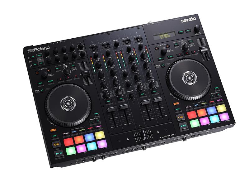Roland ( ローランド ) DJ-707M ◆【 DJ コントローラー】