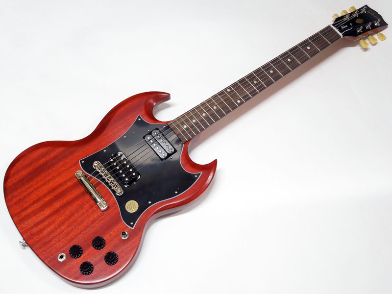 Gibson ( ギブソン ) SG Standard Tribute 2019 Vintage Cherry Satin 【USA SGトリビュート WO 112290290 】【ダンロップギター弦 3セット 】