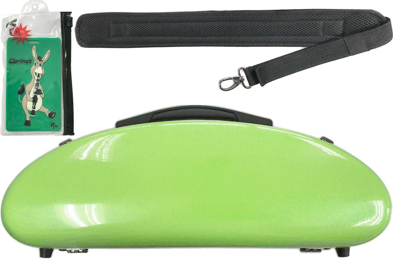 CCシャイニーケース II CC2-CLA-AG B♭ クラリネット用 ケース アップルグリーン ハードケース クラリネットケース clarinet apple green AG セット A