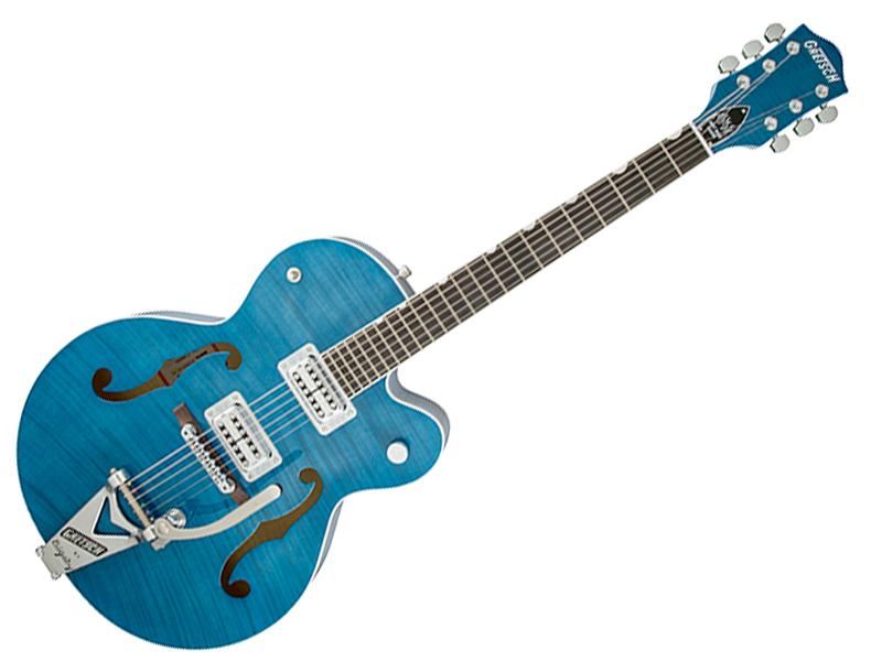 生産完了のため在庫限りの大特価!です。 GRETSCH ( グレッチ ) G6120SH Brian Setzer Hot Rod Harbor Blue 2-Tone【ブライアン・セッツァー・シグネチャー 特価品 】【冬特価! 】