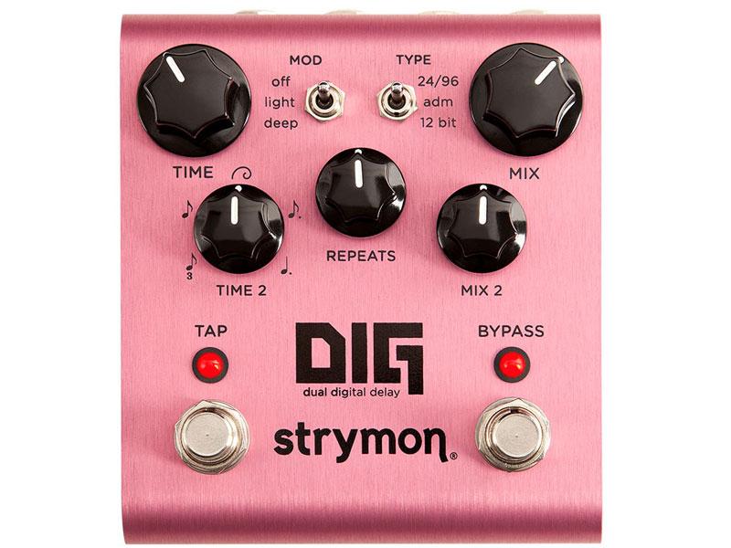 デュアル デジタル ディレイ STRYMON ストライモン DIG 日時指定 Delay Digital ディグ 初売り 送料無料 Dual