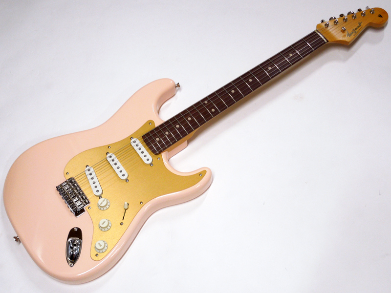 Vanzandt ( ヴァンザント ) STV-R2 Less Pressure Shell Pink w/Anodized PG 【日本製 ギター WO 8407 】