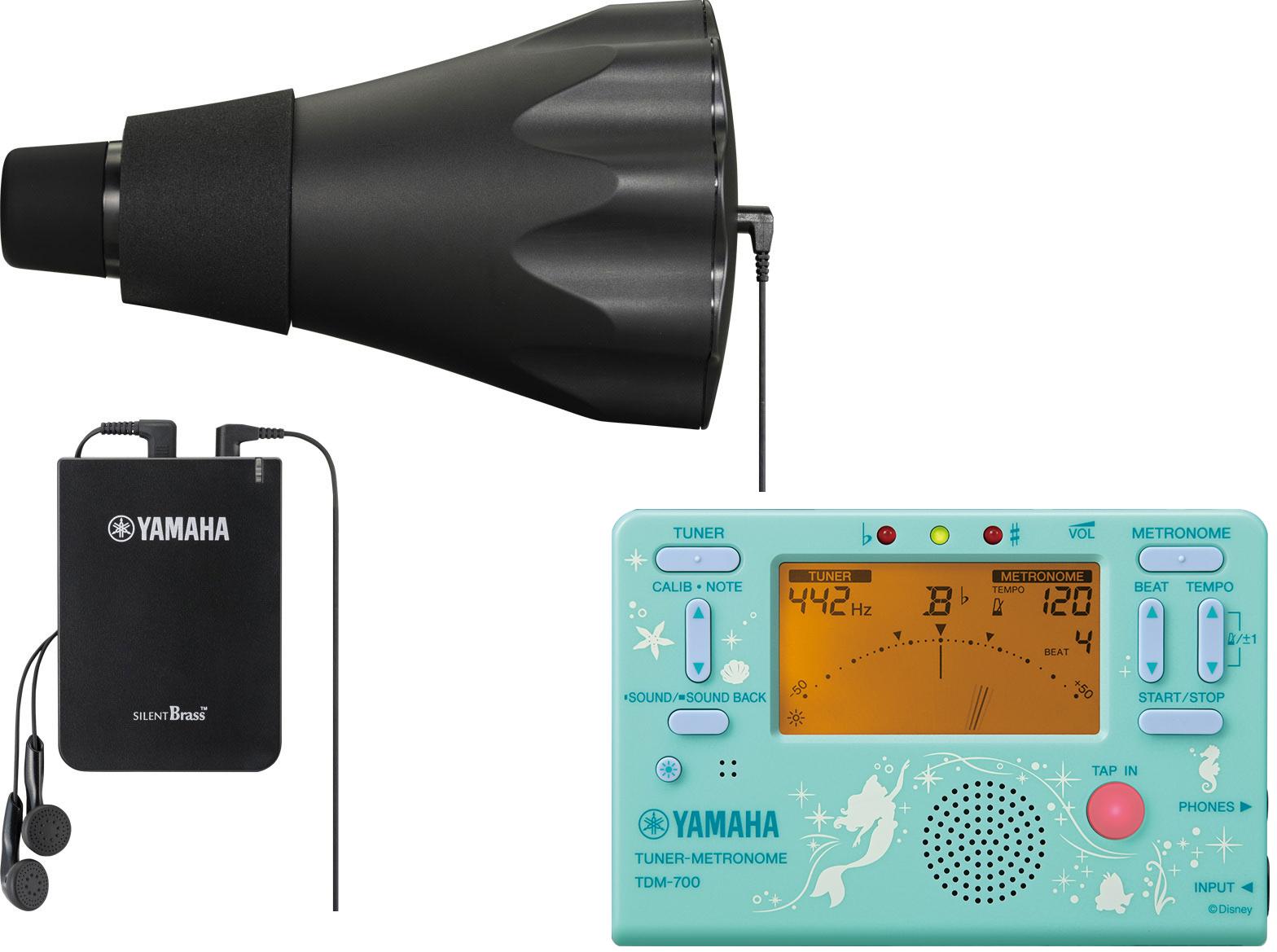 YAMAHA ( ヤマハ ) SB3X ホルンミュート サイレントブラス ピックアップミュート PM3X パーソナルスタジオ STX-2 SB-3X TDM-700DARL アリエル セット A