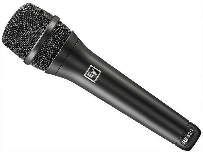 ライブパフォーマンス向き EV series ハイエンドボーカル ][ 国内正規輸入商品 エレクトロボイス ) [ Electro-Voice 送料無料 コンデンサーマイク 指向性:カーディオイド ◆ RE ( (vocal) ] RE420