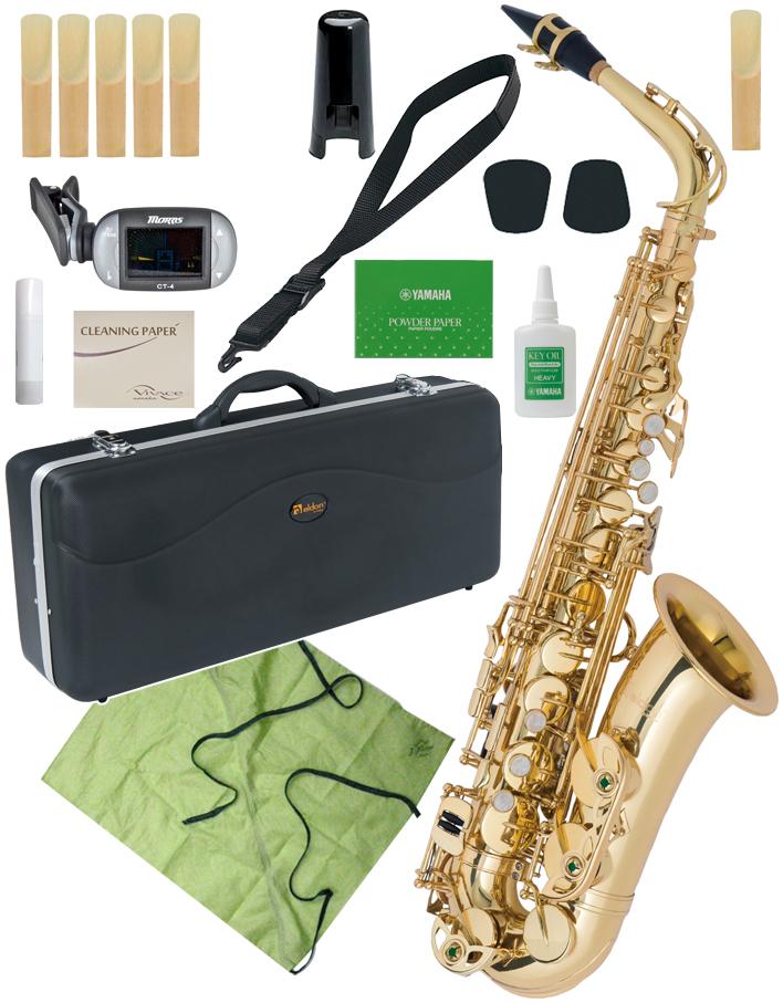 Antigua ( アンティグア ) eldon アルトサクソフォン 管楽器 サックス E♭ 管体 ゴールド お手入れセット エルドン アルトサックス セット A 北海道 沖縄 離島不可