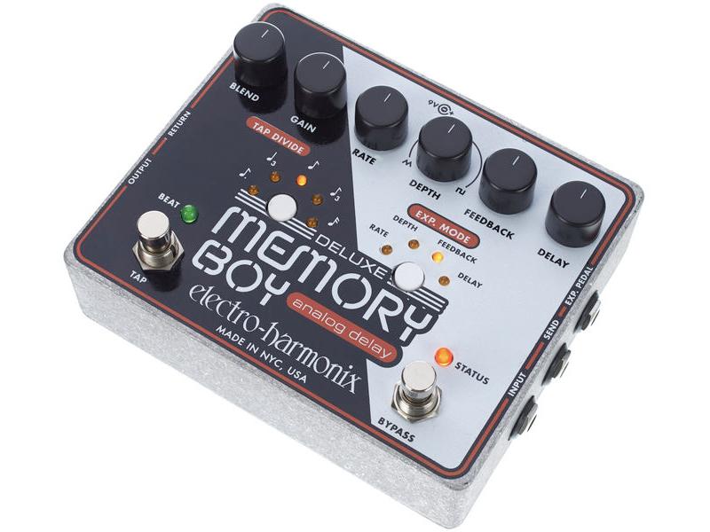 Electro Harmonix ( エレクトロハーモニクス ) Deluxe Memory Boy 【アナログ・ディレイ】【EH7855】 ◆ コンパクトエフェクター アナログディレイ