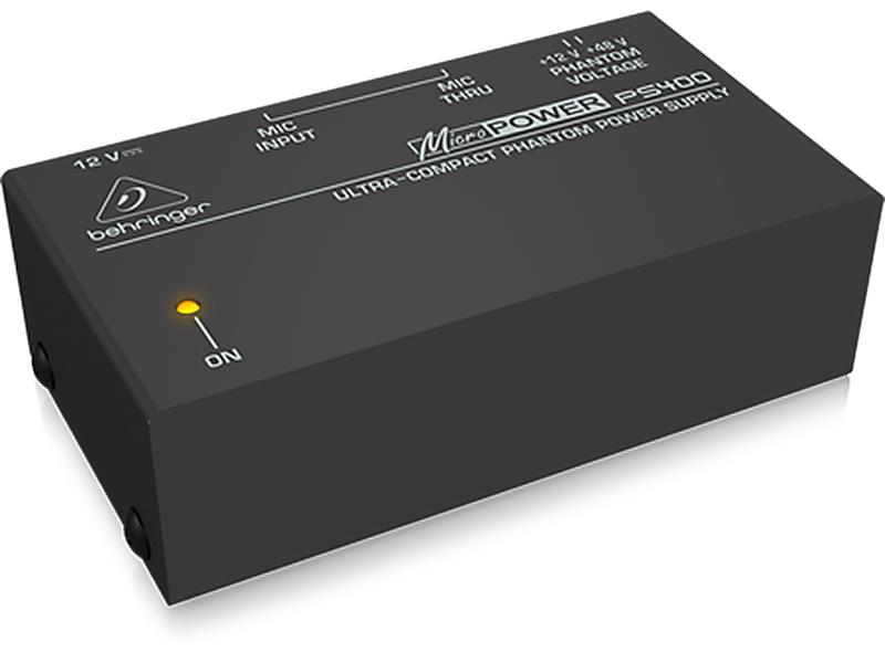 BEHRINGER ( ベリンガー ) PS400 MICROPOWER シグナルプロセッサー ファンタム電源