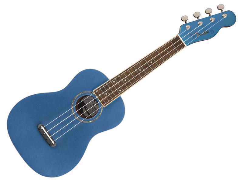 Fender ( フェンダー ) Zuma Concert Ukulele (Lake Placid Blue)【コンサート ウクレレ】【971630002】 コンサート