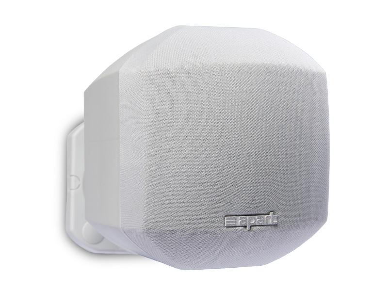 Apart Audio ( アパートオーディオ ) MASK2-W (ホワイト) (ペア/ 2台1組) ◆ ローインピーダンス専用 壁掛けスピーカー 白色 [ 送料無料 ][ マスク2 ]