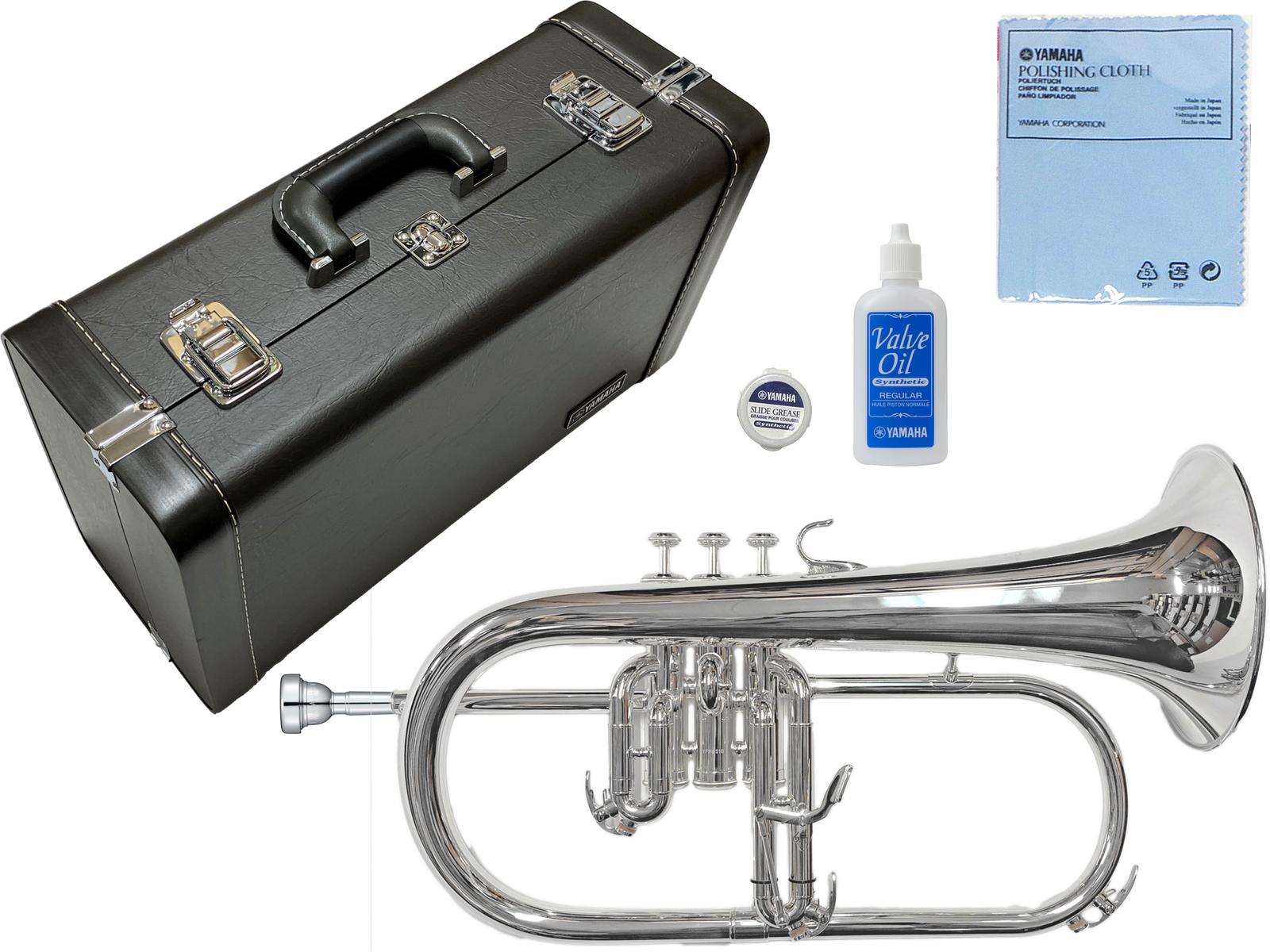 フリューゲルホーン 第3トリガー マウスピース FH11F4 YAMAHA ヤマハ YFH-631GS フリューゲルホルン 新品 銀メッキ 管楽器 シルバーメッキ 管体 B♭ 毎日続々入荷 プロフェッショナルモデル 日本製 Flugelhorn 本体 楽器 YFH631GS 直輸入品激安