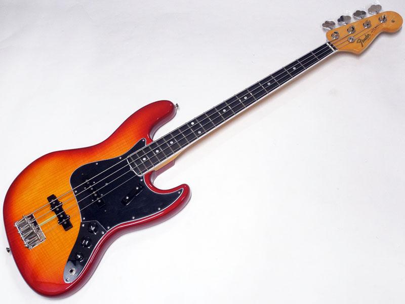 Fender ( フェンダー ) Rarities Flame Ash Top Jazz Bass Plasma Red Burst【USA ジャズベース 限定モデル WO 】【限定プライスダウン! 】