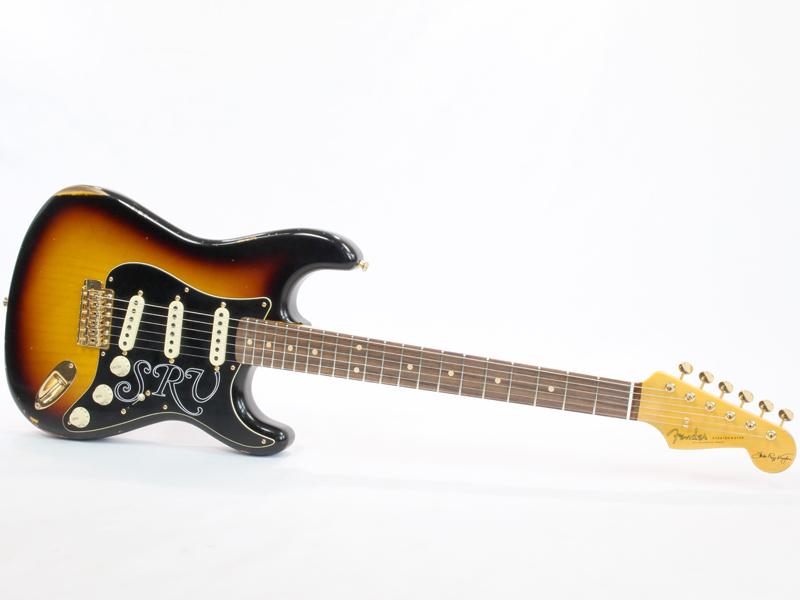 Fender Custom Shop Stevie Ray Vaughan Signature Stratocaster Relic Faded 3-Color Sunburst 【USA カスタムショップ KH 】 スティーヴ・レイボーン ストラトキャスター
