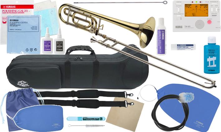 J Michael ( Jマイケル ) TB-650M トロンボーン 新品 テナーバストロンボーン 細管 マウスピース 中細管 B♭ F tenor bass trombone セット A 北海道 沖縄 離島不可
