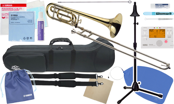 J Michael ( Jマイケル ) TB-650M トロンボーン 新品 テナーバストロンボーン 細管 マウスピース 中細管 B♭ F tenor bass trombone セット B 北海道 沖縄 離島不可