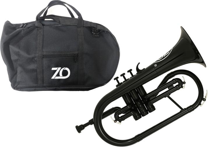 ZO ( ゼットオー ) FL-05 フリューゲルホルン ブラック 新品 アウトレット プラスチック 管楽器 Flugel horn black 楽器 北海道 沖縄 離島不可
