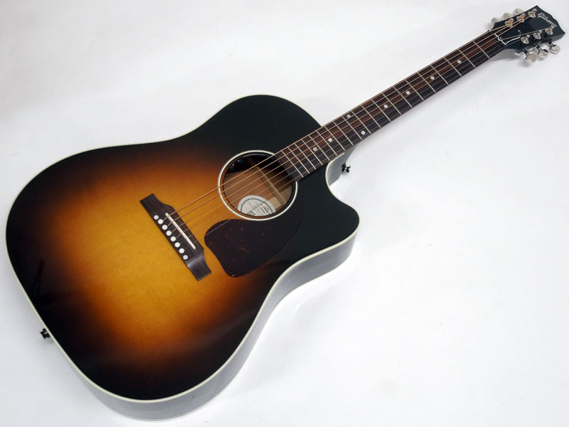 Gibson ( ギブソン ) J-45 Standard EC Cutaway / VS 【USA アコースティックギター WO 13469061 】【カイザー KG6 カポタスト プレゼント 】