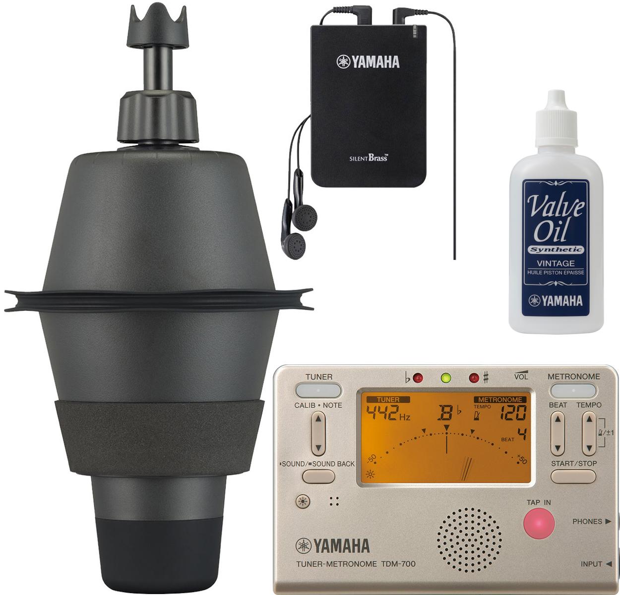 YAMAHA ( ヤマハ ) 【予約】 SB2X ユーフォニアム サイレントブラス ミュート PM2X パーソナルスタジオ STX-2 SILENT BRASS 弱音器 TDM-700G セット 北海道 沖縄 離島不可