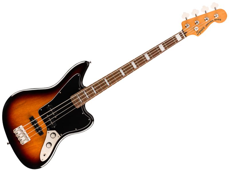 海外 スクワイヤーのジャガーベース SQUIER スクワイヤー Classic Seasonal Wrap入荷 Vibe Jaguar Bass 3CS ジャガーベース