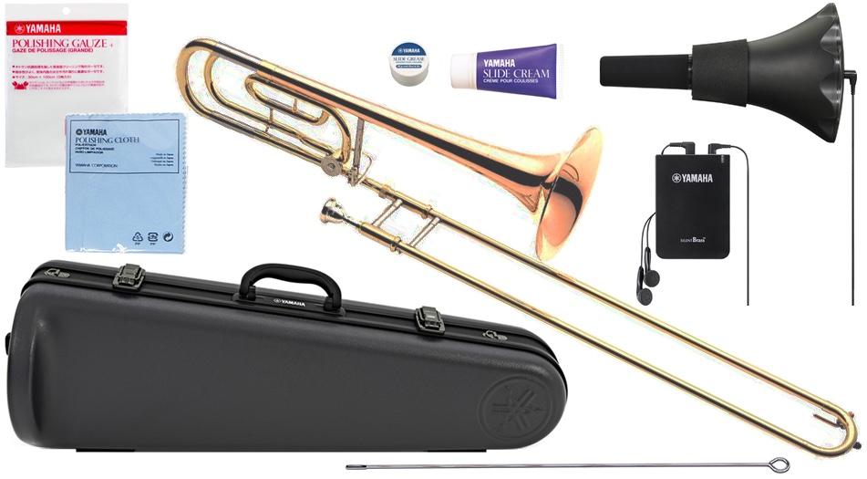 YAMAHA ( ヤマハ ) YSL-456G テナーバストロンボーン ゴールドブラス B♭ F管 デュアルボア トロンボーン 日本製 Tenor Bass Trombones セット A 北海道 沖縄 離島不可