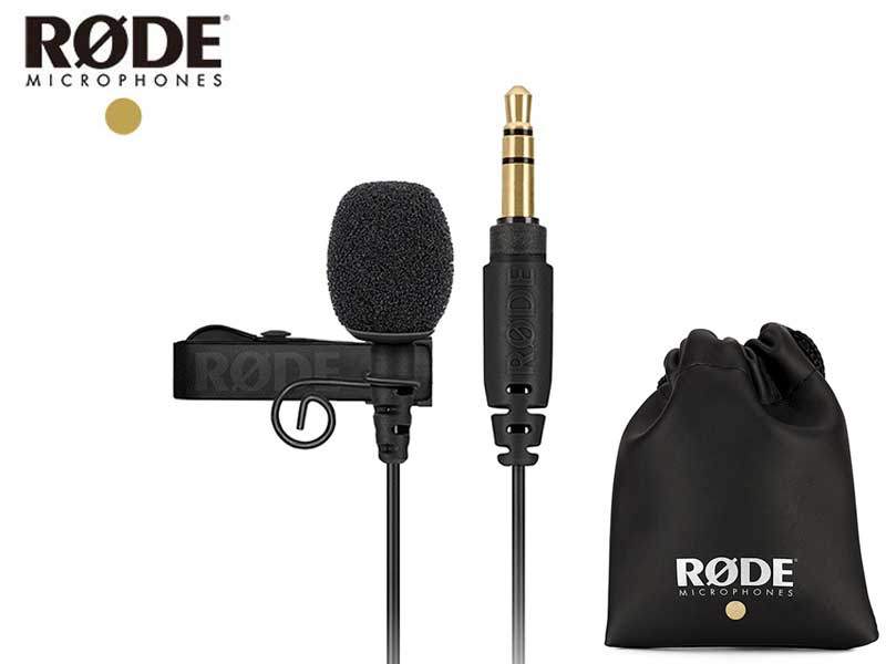 Lavalier GO ラベリア ゴー Wireless やTRSコネクタ入力のレコーダー向けのラベリアマイクです 国内正規品 TRSコネクタ入力ラベリアマイク ピンマイク RODE ブラック ロード 奉呈 現品